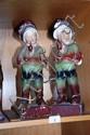 Bon Papa vintage figurines x 2