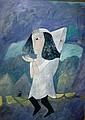 Kay Singleton Keller ' oil on canvas 'Angel in
