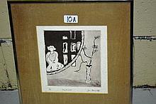 Jan Deveridge etching