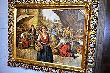 Aristid Szendy (Hungary), oil on canvas - woman
