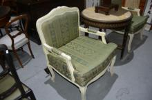 Pair of French armchairs,