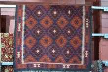 Persian Kilim rug, pure wool, hand knotted,