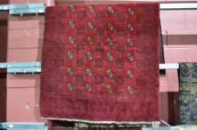 Persian Turkmen pure wool, hand made rug,