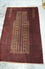 Persian Baluchi pure wool, hand made rug,