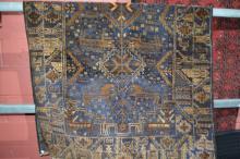 Persian Balcuhi tribal rug, pure wool, hand made,