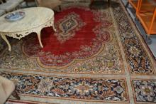 Persian Kerman pure wool, hand made rug