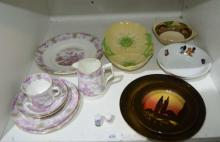 Qty china incl. Royal Doulton 'Poplars' plates,
