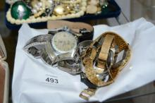 7 various wrist watches to incl.