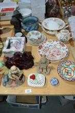Various china incl. Sadler teapot,
