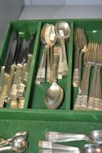 Complete cutlery set made by Stanley Rogers & Son