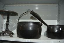 3 items; Kenrick 2 gallon billy pot,