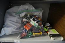 Large collection of play worn diecast model cars