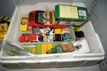 Collection of play worn die cast model cars,