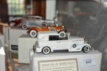 4 x National motor museum mint