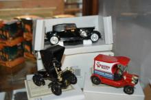 3 x National Motor Museum mint model