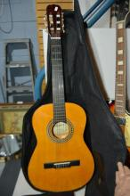 Legacy student guitar in soft case
