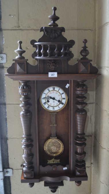 gustav becker antique wall clocks