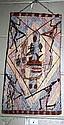 Lindsay Roughsey (Burrud) Aboriginal bark painting