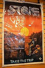 Vintage Australian movie poster 'Stone - take the