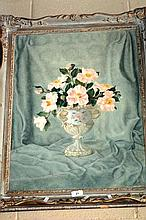 Artist unknown still life of flowers in a