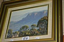 John Emmett oil on board 'Looking to Narrow neck