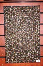 Patricia Kamara Rambler, Aboriginal Bush Medicine Medicine' dot painting on canvas, signed verso, 51 x 32cm