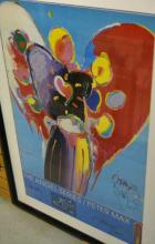 Peter Max, exhibition poster,