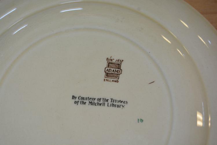 Adams Display Plate Of Sydney Cove 39 S