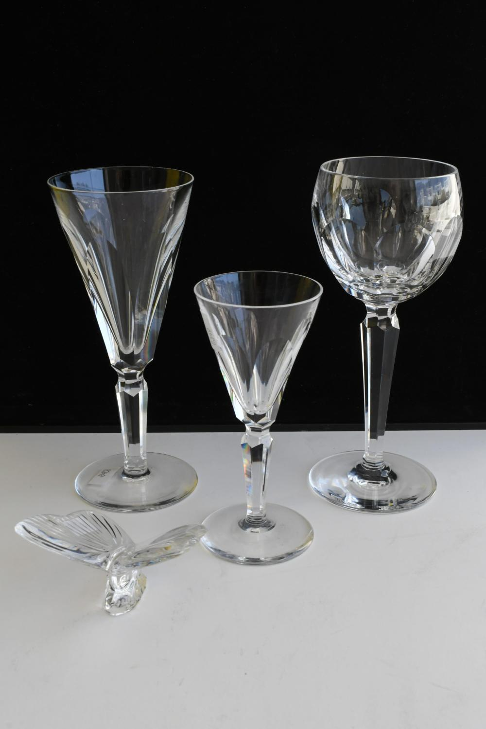Collection of Waterford Crystal ''Kathleen'' crystal