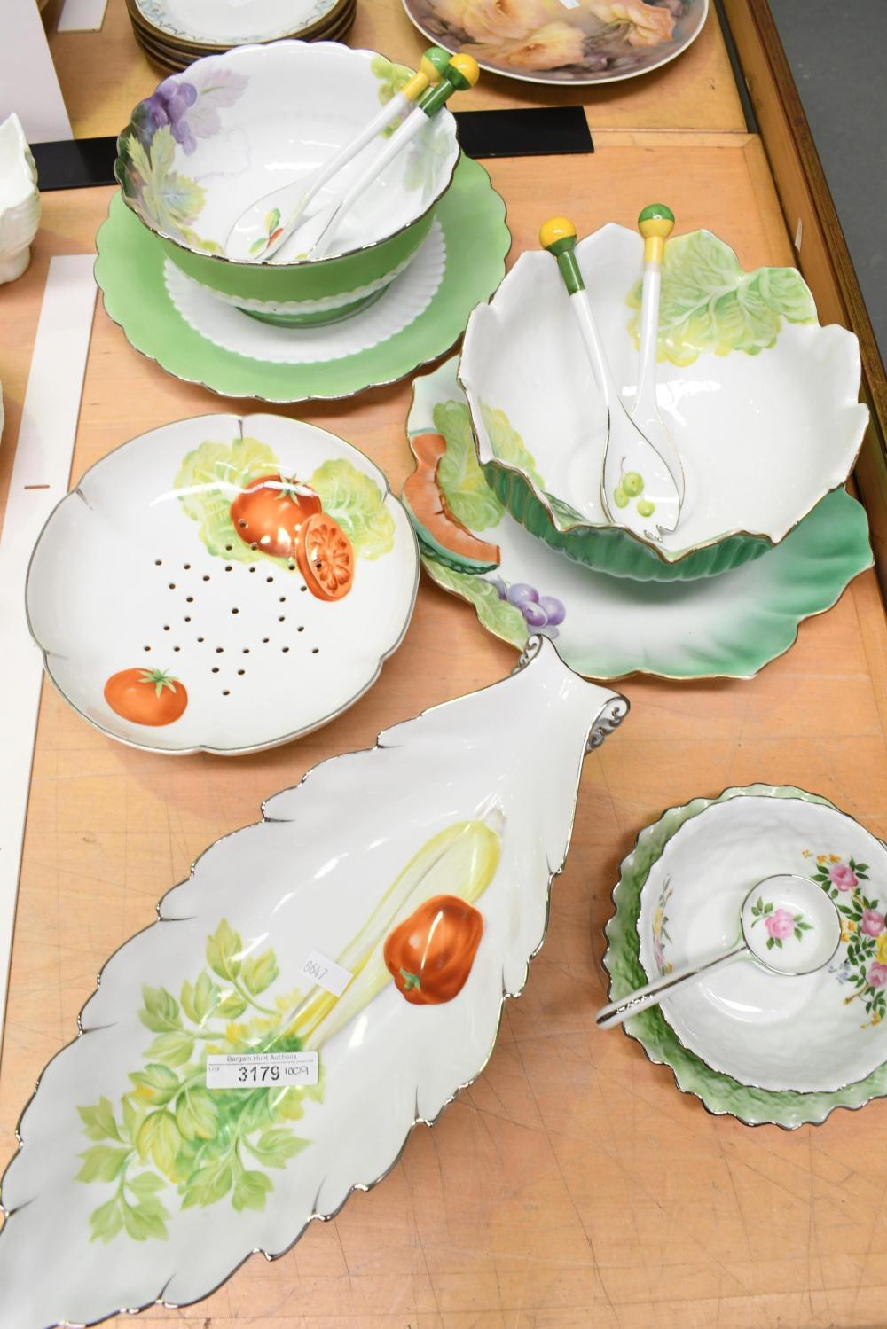 Large collection vintage Noritake tableware incl