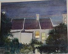 Frederick Bates, watercolour 'North Sydney