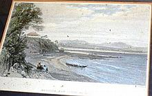 S. Prout/T. Heawood, coloured engraving 'Broulee