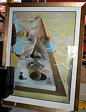 Salvadore Dali, large print, 'Apparition of the