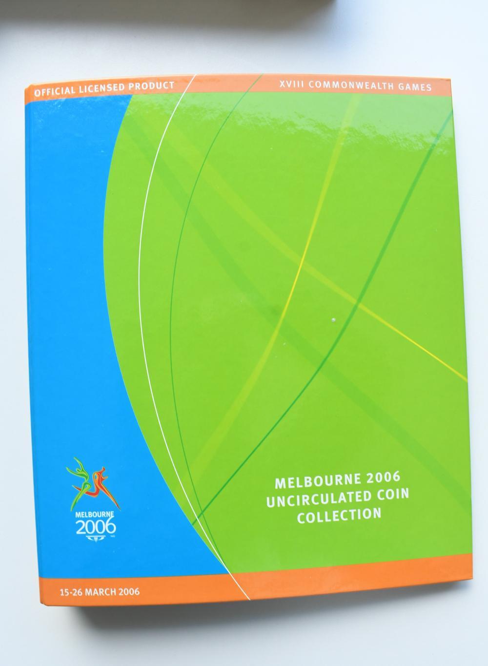 Melbourne 2006 Commonwealth games Mint set