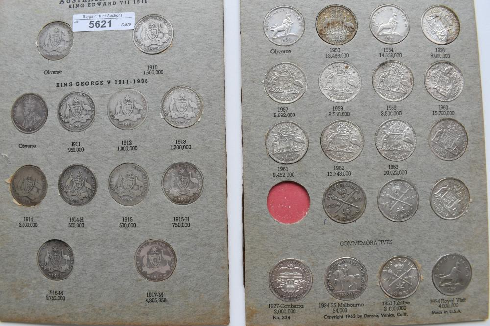 Collection of 31 x Australian Florins incl 1934-35