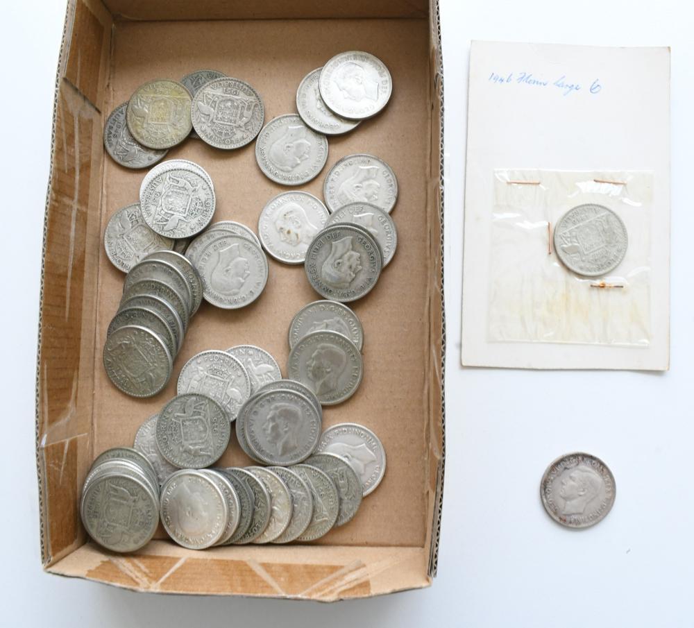 Approx. 57 Australian Florin coins