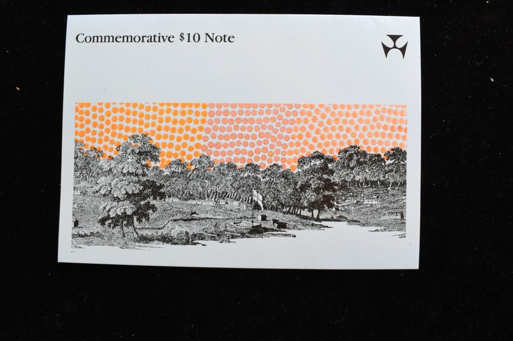 Australian 1st issue $10 polymer note AA prefix