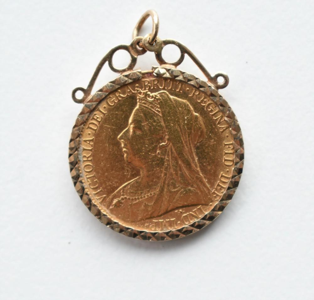 1899 Gold full sovereign, London