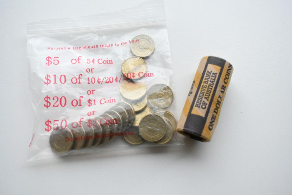 1986 Australian RAM roll $1 Peace