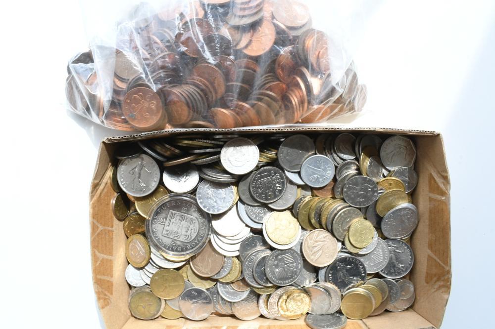 Collection asst. World Coins