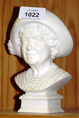 Royal Doulton bust 'The Queen Mother' HN4340