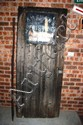 Vintage door A M Evans registered dairy