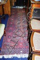 2 woollen, Persian rugs; natural colours with a