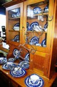 A large collection of blue Willow dinnerware, by