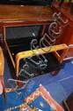 Retro Tessa coffee table, square form, shaped ply
