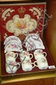 Set of 6 Royal Crown Derby teacups & saucers
