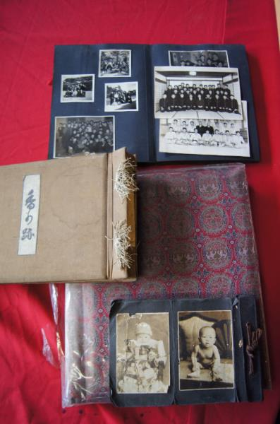 Collection of 4 old japanese photograph albums incl 3 early for Classic house albums