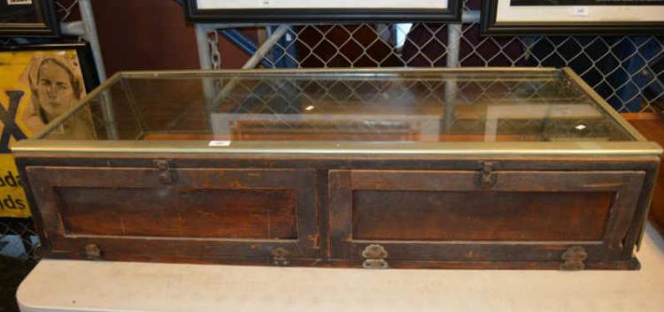 Antique Haberdashery Display Cabinet