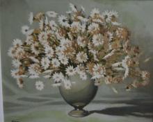 William Tootil, still life of flowers in vase,