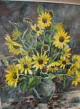 Stewart Halbisch, 'Daisies In A Vase', 1979,